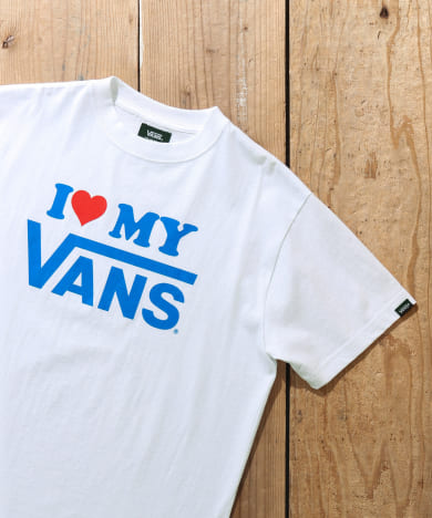 モテ系ファッションメンズ|VANS I LOVE MY VANS SHORT-SLEEVE T-SHIRTS