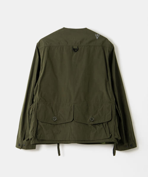 South 2 West 8 Tenkara Shirt - Wax Coating EJ780-BSM94: Olive