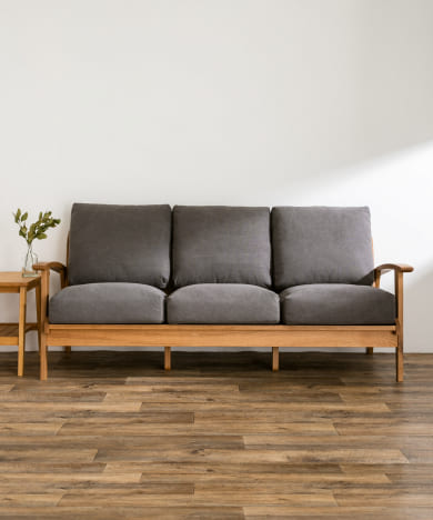 Bothy Canvas Sofa 3P オーク無垢材