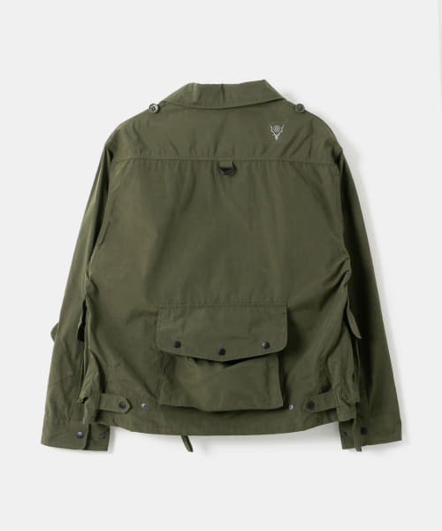 South 2 West 8 Tenkara Shirt - Wax Coating EJ781-BSM94: Olive
