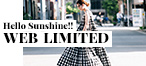 Hello sunshine!! -WEB LIMITED-