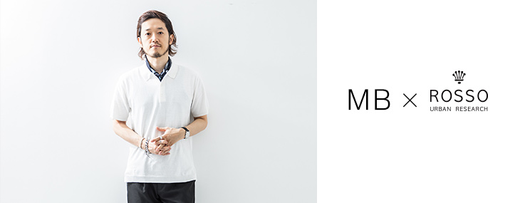 MB×URBAN RESEARCH ROSSO MEN