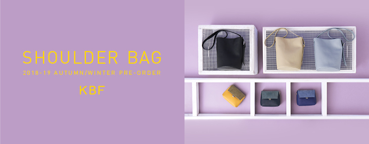 KBF SHOULDER BAG PRE-ORDER
