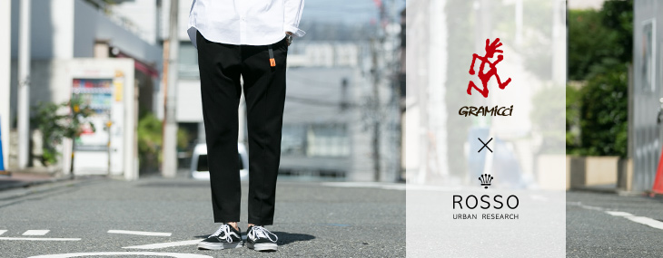 URBAN RESEARCH ROSSO MEN × GRAMICCI