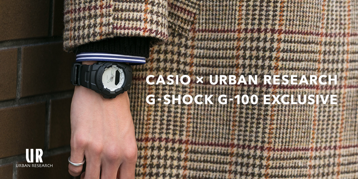 CASIO×URBAN RESEARCH G-SHOCK G-100 EXCLUSIVE