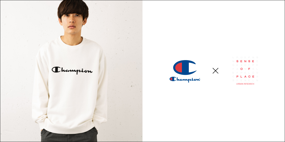 Champion × SENSE OF PLACE