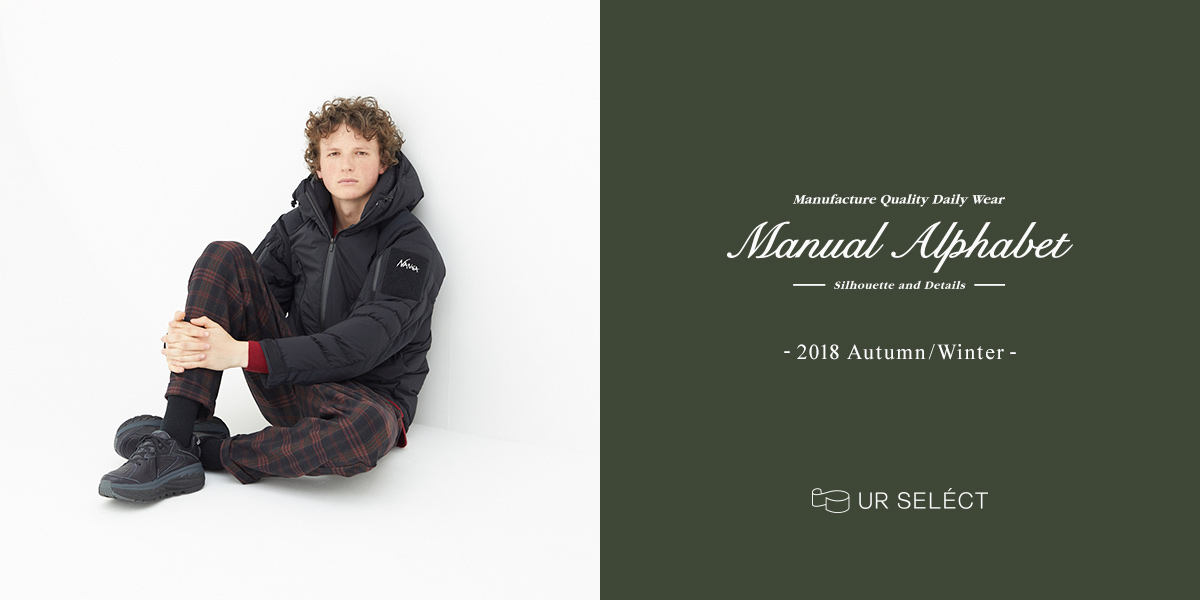 Manual Alphabet -2018 Autumn/Winter-