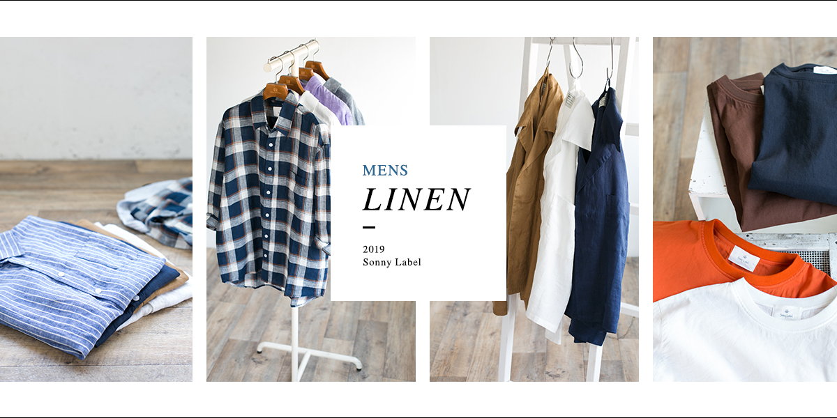 2019 Sonny Label MENS LINEN