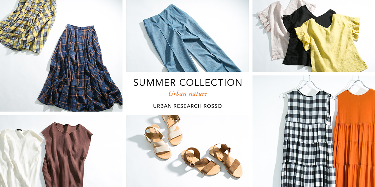 SUMMER COLLECTION -Urban nature-
