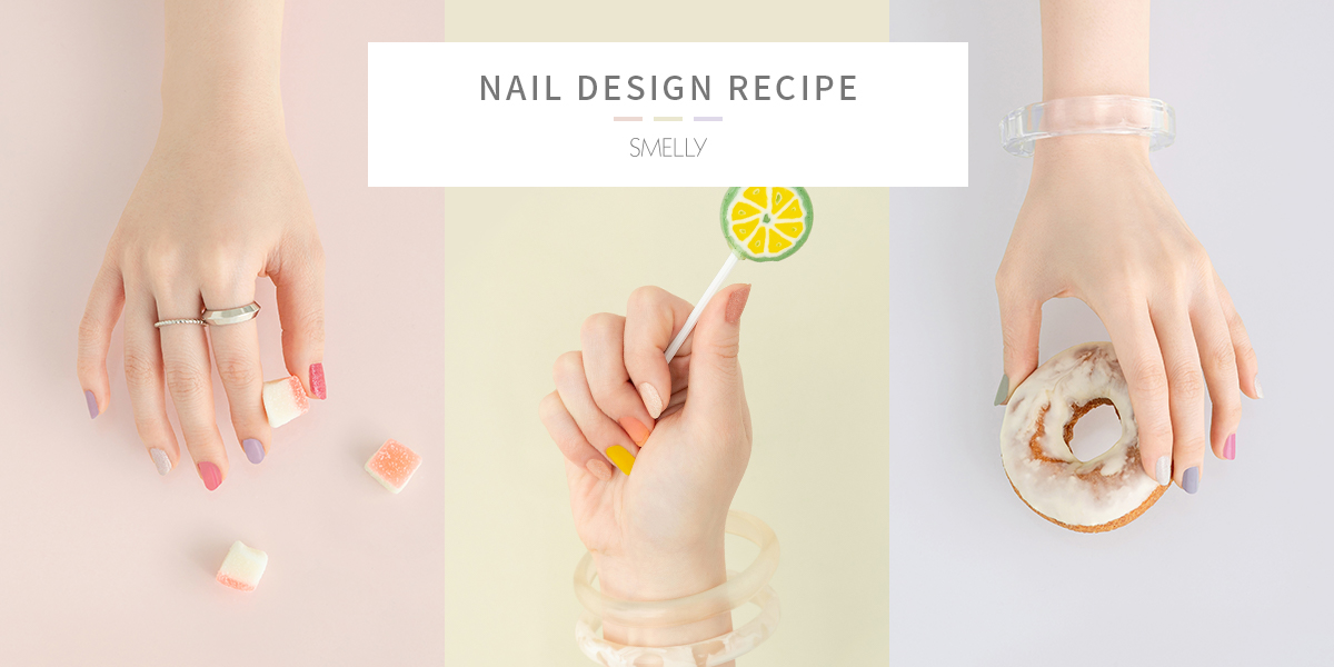SMELLY NAIL DESIGN RECIPE