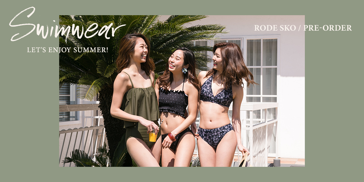 Let's enjoy summer! Swimwear Pre-order