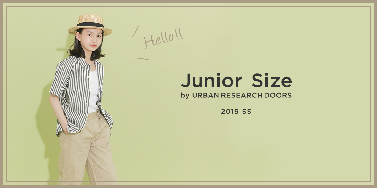 Junior Size by URBAN RESEARCH DOORS 2019SS