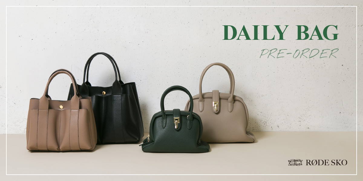 DAILY BAG PRE-ORDER