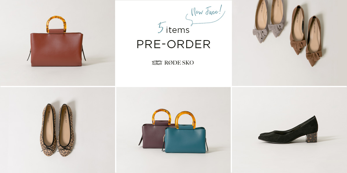 New Face! 5 items PRE-ORDER