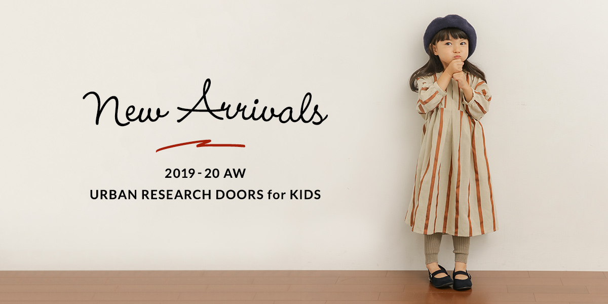 New Arrivals 2019-20 AW URBAN RESEARCH DOORS for KIDS