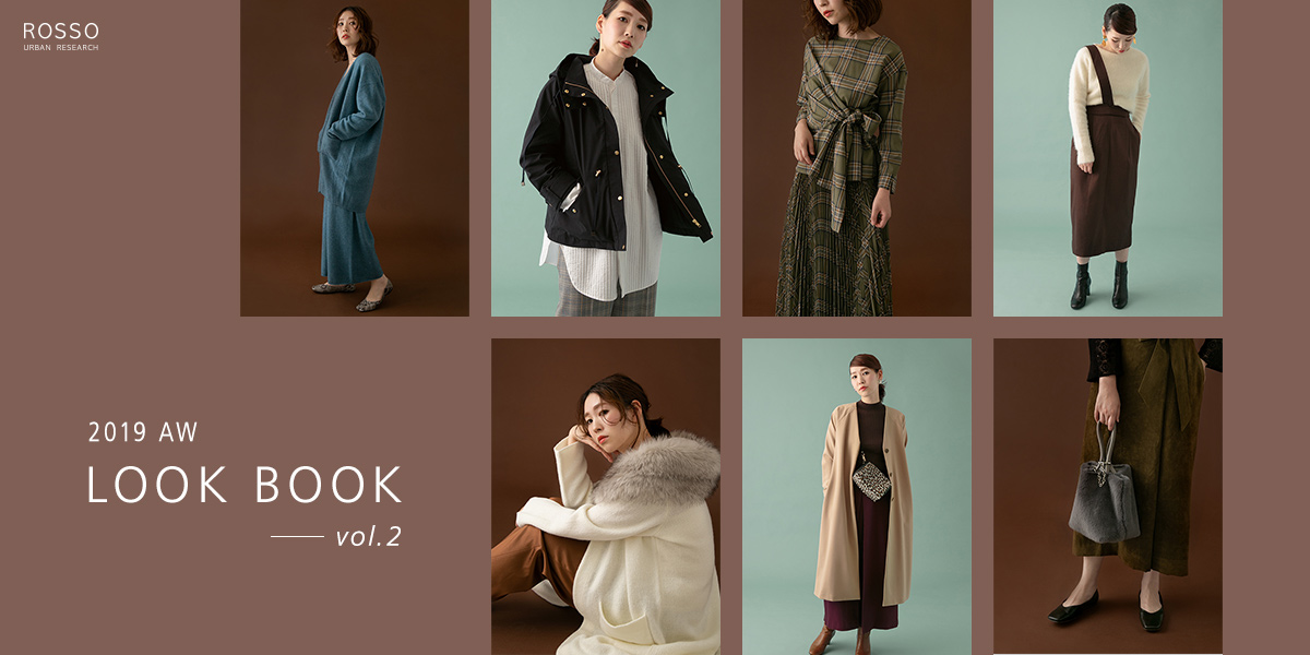 2019 AW LOOK BOOK vol.2