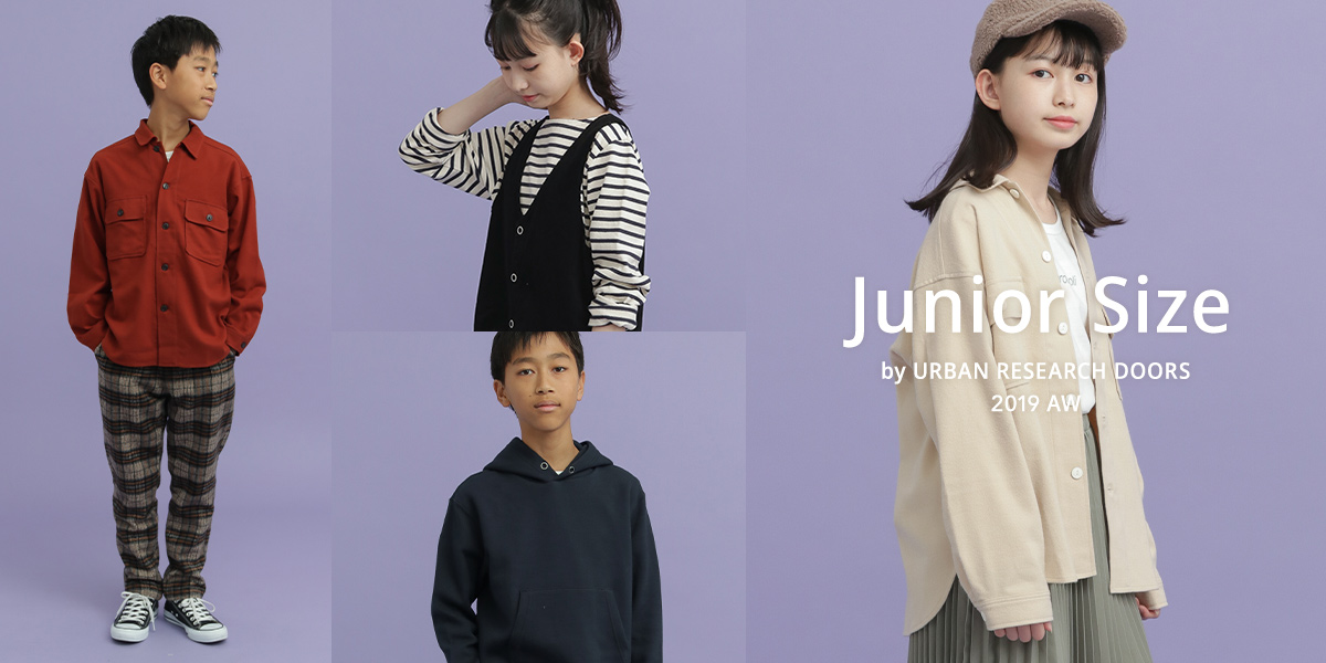 Junior Size by URBAN RESEARCH DOORS 2019 AW