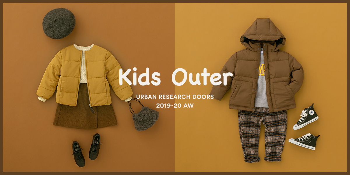 Kids Outer URBAN RESEARCH DOORS 2019-20 AW