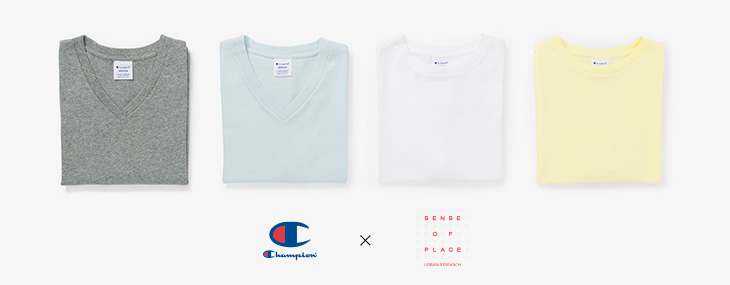 Champion×SENSE OF PLACE