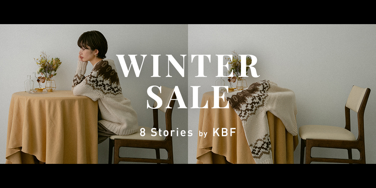 WINTER SALE 8 Stories by KBF