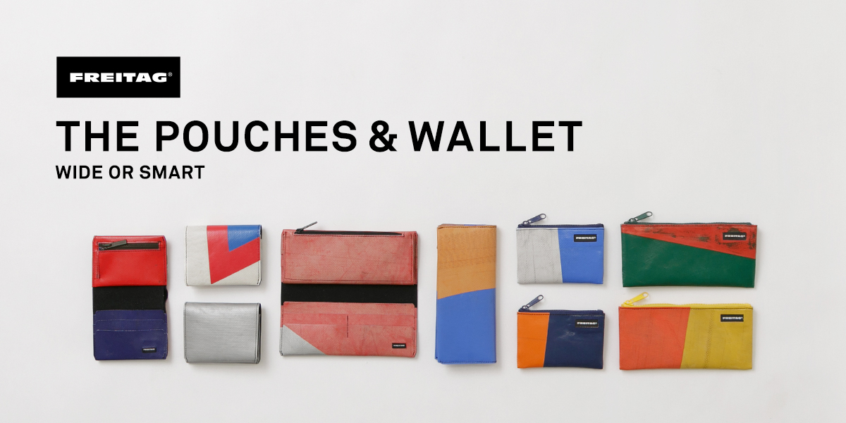 THE POUCHES&WALLETS  WIDE OR SMART