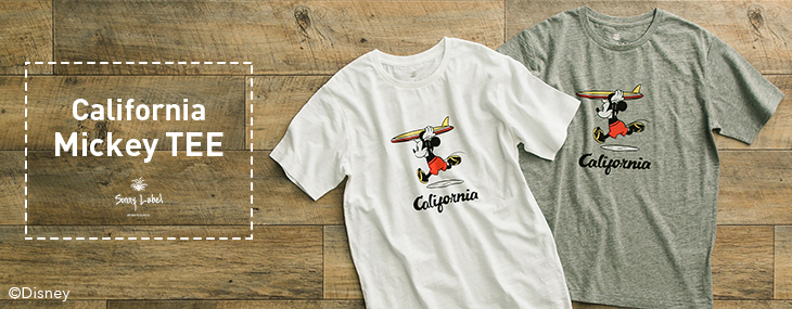 California Mickey TEE