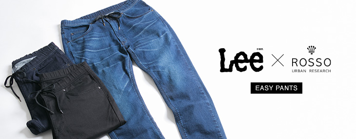 ROSSO MEN × LEE  Easy Pants