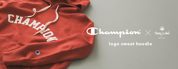 Champion×SonnyLabel logo sweat hoodie