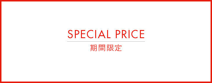 SENSE OF PLACE 期間限定 SPECIAL PRICE