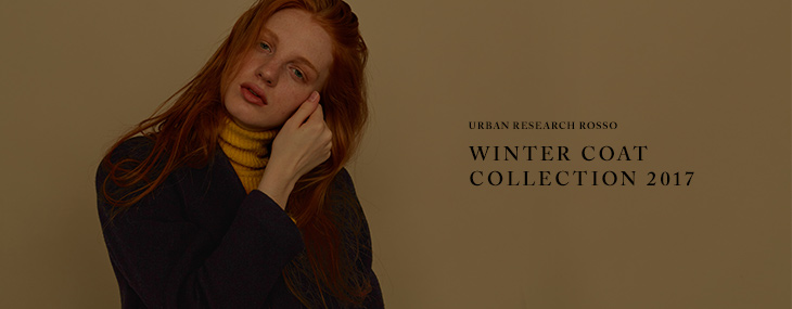 URBAN RESEARCH ROSSO WINTER COAT COLLECTION 2017
