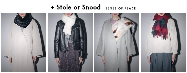 +Stole or Snood