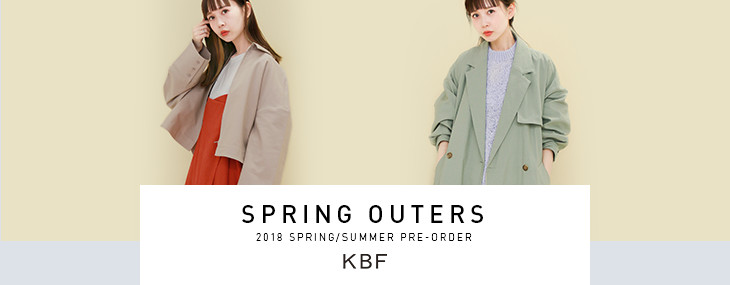KBF SPRING OUTERS PRE-ORDER