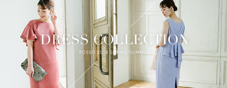 ROSSO Dress Collection 2018 Spring/Summer