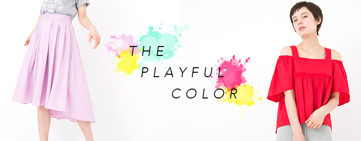 THE PLAYFUL COLOR