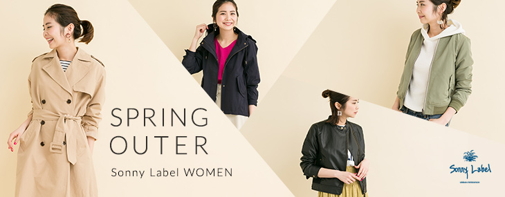 Sonny Label WOMEN SPRING OUTER
