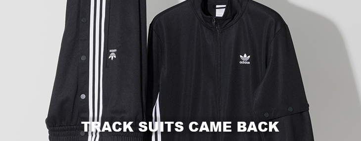 "adidas Originals  ""TRACK SUITS CAME BACK"""