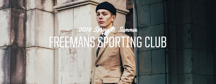 FREEMANS SPORTING CLUB 2018 Spring & Summer