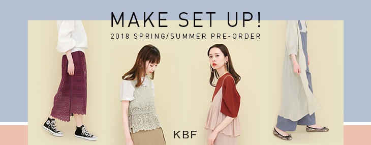 KBF MAKE SET UP! PRE-ORDER