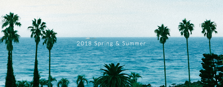 Sonny Label 2018 SPRING & SUMMER