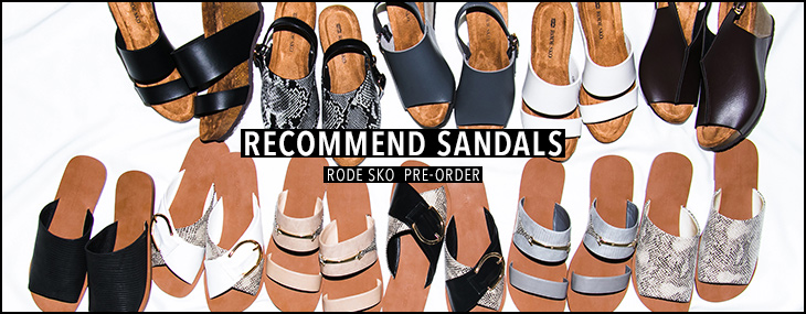 RECOMMEND SANDALS PRE-ORDER
