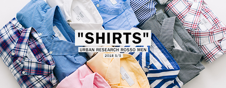 "URBAN RESEARCH ROSSO MEN ""SHIRTS"""