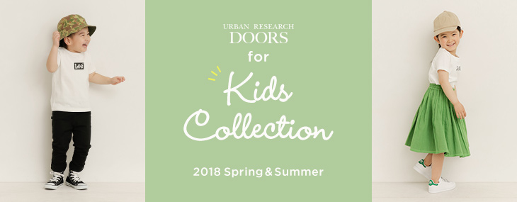 DOORS for KIDS COLLECTION 2018 Spring & Summer