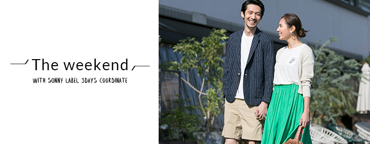 """The weekend"" with Sonny Label 3 days coordinate"