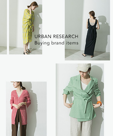 URBAN RESEARCH Buying brand items