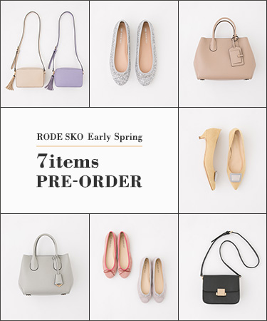 RODE SKO Early Spring 7items PRE-ORDER