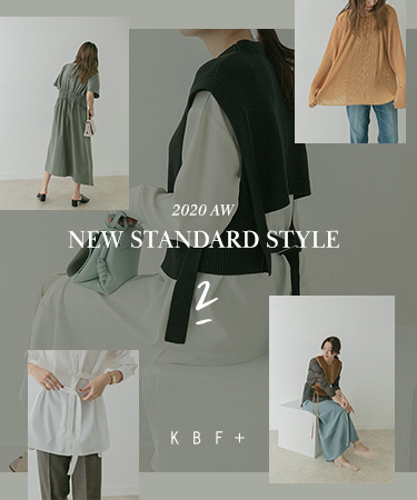 "KBF+ 2020 AW ""NEW STANDARD STYLE"" Vol.2"