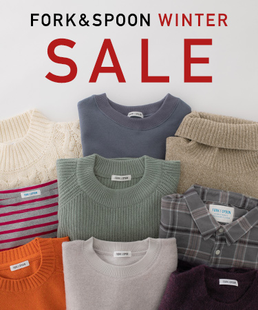 FORK&SPOON WINTER SALE