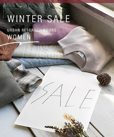 WINTER SALE URBAN RESEARCH DOORS- WOMEN|DOORS