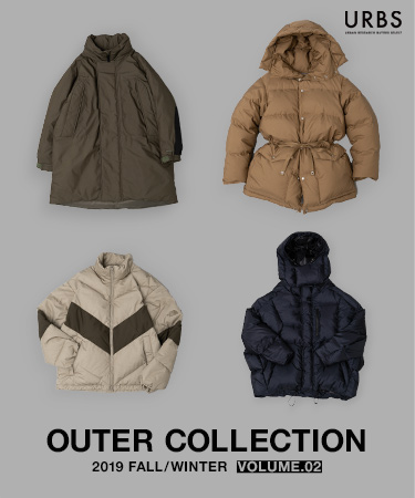 "2019 FALL/WINTER OUTER COLLECTION「URBS COLLECTION ""DOWN""」"