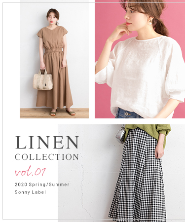 LINEN COLLECTION  vol.1 2020 Spring/Summer Sonny Label
